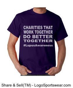 Charities (Unisex Lupus Awareness t) Design Zoom