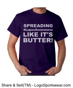 Spreading (Unisex Lupus Awareness t) Design Zoom