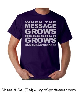 When The (Unisex Lupus Awareness t) Design Zoom