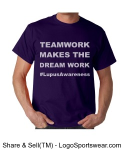 Teamwork (Unisex Lupus Awareness t) Design Zoom